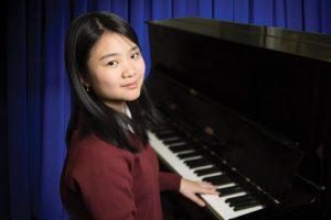 Music piano student